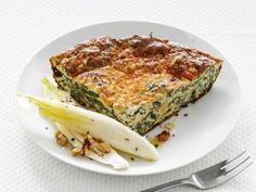 Crustless Spinach Quiche from Food Network Magazine makes for a picture-perfect way to start your day.
