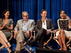 Bellamy Young, Jeff Perry, Tony Goldwyn and Kerry Washington at Paley's Fall TV Preview Party 2012