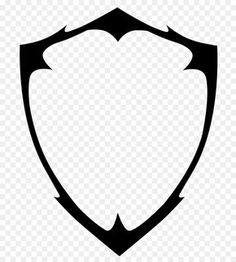Blank Shield Logo Vector Png Image Shield Png Image Vector And Clipart With For Your Design. You can get million PNG images to search your favorites object for the project template. Logo Desing, Game Logo Design, Buho Logo, Logo Gamer, Kranz Tattoo, Imagenes Free, Logo Esport, Muster Tattoos, Esports Logo