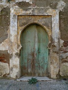 Blue Door Morocco Doors And Portal