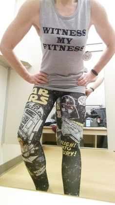 I think I found a  perfect workout outfit for me