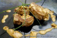 Tournedos di filetto di maiale fiammati al brandy con crema di gorgonzola Baked Potato, Pork, Potatoes, Beef, Baking, Ethnic Recipes, Cream, Kale Stir Fry, Meat