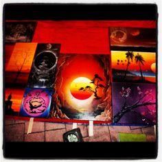 Buy a piece of spray paint art