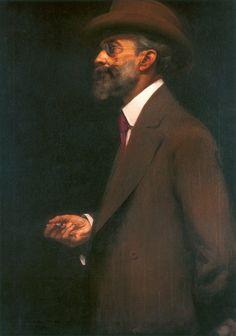 Retrato do Crítico de Arte Luís Gonzaga Duque Estrada (Portrait of Art Critic…