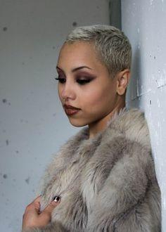 Mixedsiren: makeup game too strong jo-bailon | Black Girls With Beautifully Short Hair. | Bloglovin'