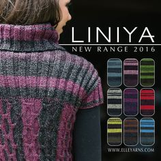 Introducing one of our new yarns of 2016... LINIYA. Have you seen it in your local stores... Better yet have you used it already? Let us know what you think.. #elleyarns #knit #crochet #yarn #wool #hobby #knittingaddict #crocheting #crafts #knittersofinstagram #crochetersofinstagram #crochetaddict #handmade #crochetconcupiscence #yarnlover #yarnstash #southafrica #saprotex #creative #craftastherapy #yarnaddict #new #launch #liniya by elle_yarns