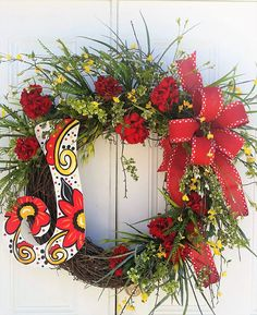 Your place to buy and sell all things handmade Wreaths For Front Door, Door Wreaths, Grapevine Wreath, Year Round Wreath, 4th Of July Wreath, Ribbon Garland, Garlands, Flower Arrangements, Edible Arrangements