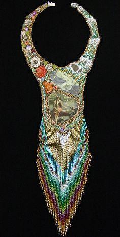 """Moment of Peace"" extraordinary piece by bead artist Heidi Kummli."