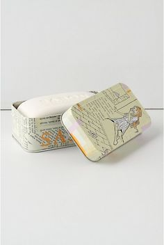 Really nice illustrations on this soap packaging