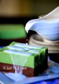 Just Try & Taste: Puding Coklat Pandan - Super Maknyus! ^_^