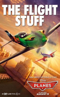 Ripslinger and Bulldog have it. Do you have the flight stuff? #DisneyPlanes