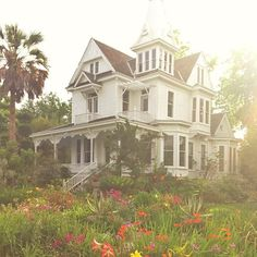 If I were a house, I think I would be a victorian farm home.
