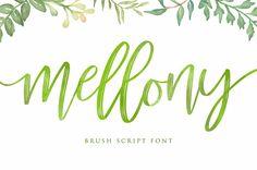 mellony-brush-script-font