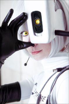 GLaDOS cosplay by Tenori-Tiger on DeviantArt