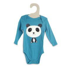Body 'Panda' emmanchure US Bébé garçon - Kiabi - 3,49€