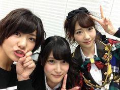 Miyazawa Sae & Kashiwagi Yuki & Iriyama Anna