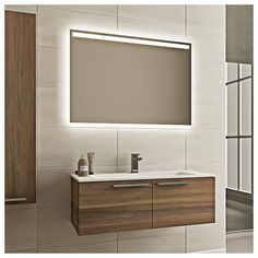 Found it at Wayfair.co.uk - Aries 80cm Wall Mounted Vanity Unit with Sink and Mirror