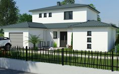 Modèle Maéva Spanish Exterior, Outside Paint, Villas, House 2, Home Remodeling, Beautiful Homes, Architecture Design, House Plans, Sweet Home