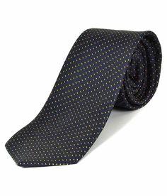 Greyon Black Silk Neck Tie