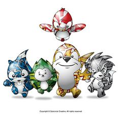 hedgehog & friends: Meet London Olympics mascots Wenlock, Mandeville