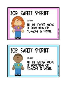 """""""You're hired!"""" Sample job/duty cards from:  Classroom Jobs {Job Cards, Applications, & Interview Questions} Visit the site for a preview. $"""