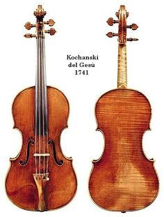 Giuseppe Guarneri del Gesù Kochanski del Gesù Violin