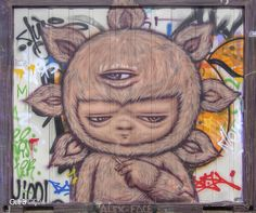 Tigger, Graffiti, Photo, Disney Characters, Art, Character, Cartoon, Street Art