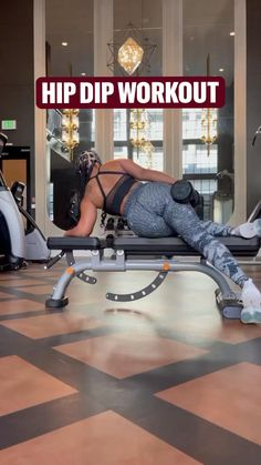 Dip Workout, Gym Workout Tips, Dumbbell Workout, Workout Videos, Butt Workouts, Weight Gain Workout, Fitness Tips, Fitness Motivation, Muscle Building Women