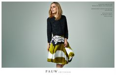 Pauw Collection Spring Summer 2013 #ss13 #pauw #fashion #stripe #skirt
