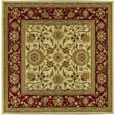 Safavieh Lyndhurst Collection Majestic / Red Rug