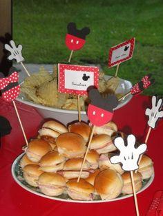 Manualidades de Mickey Mouse para fiestas infantiles - Imagui