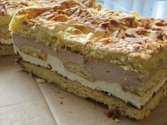 Hungarian Cake, Polish Recipes, Russian Recipes, Tiramisu, Side Dishes, Sweet Tooth, Cheesecake, Food And Drink, Cooking Recipes