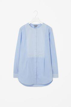 Silk panel shirt