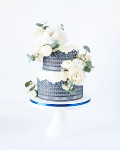 55 Best Cake Lace images in 2020 | Cake lace, Sugar lace, Cake