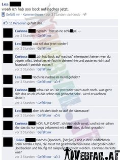 MUAHAHAHAHA! Facebook Humor, Fb Fail, Facebook Fail Des Tages, Tumblr Stuff, Funny Messages, Stupid People, Funny Pins, Dumb And Dumber, Fails