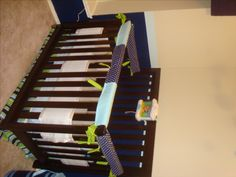 She's Crafty! Diy Crib Rail Guard Tutorial