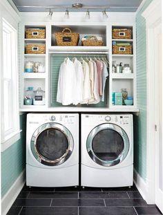 Salle de lavage: 10 idées | Les idées de ma maison Photo: ©Meredith Corporation…