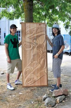 carved door - what a beautiful way to welcome someone to your home