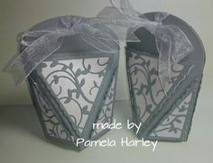 Wedding Favours, Wedding Ideas, Tonic Cards, Inspiration Cards, Box Templates, Pretty Box, Birthday Favors, Treat Bags, Stamping Up