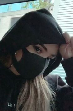 """2019 Sabrina Carpenter is masked in a promotion for Alan Walker's """"On My Way. Sabrina Carpenter, Girl Pictures, Girl Photos, Chrissy Costanza, Mouth Mask Fashion, Mask Girl, Mask Online, Alan Walker, Aesthetic Girl"""