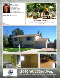 2980 W. 133rd Ave. Broomfield, CO.  Call or email for details.  Priced to sell FAST!