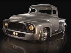 Check out this 1965 Ford F100 that features a Ford SVT Lightning SOHC engine. Read more about this classic only at www.customclassictrucks.com, the official website for Custom Classic Trucks Magazine!
