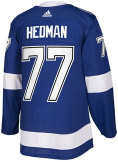 e11ac7e9382 adidas Men s Victor Hedman Tampa Bay Lightning Authentic Player Jersey  Victor Hedman