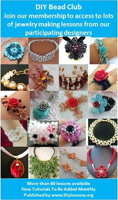 Lots of Free Jewelry Making Tutorials & Lessons