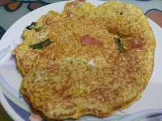 Catherine's Cooking @ cathteops: Rice Omelette Pancake