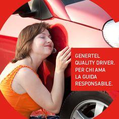 Proprietà transitiva: chi ama la propria auto guida responsabilmente. Chi guida responsabilmente sceglie Genertel Quality Driver. Chi sceglie Genertel Quality Driver risparmia.