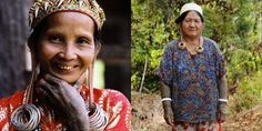 """This is the second weirdest beauty of the world. The beauty from Dayak tribe, girl was assumed as """"beautiful one"""" after they have worn these earings. Number 1 is also from ASEAN, Thailand where girl is supposed to lengthen their neck with special necklace attached to their neck."""