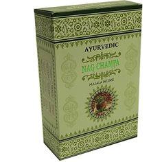 Wierook Ayurvedische masala Nag Champa - 10 g - (12st.) - Webshop