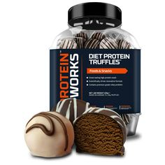 The Protein Works Diet Protein Truffles   The Protein Works - Official Trade Sports Nutrition Distributor   Tropicana Wholesale