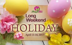 Easter holiday announcement deliveryph holidaynotice easter philippines leading online gift service to anywhere in the philippines we deliver mother day item to anywhere in the philippines negle Images